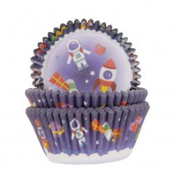 50 Cápsulas Cupcake Espaço