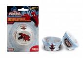50 Cápsulas Cupcake Spiderman Web Warriors