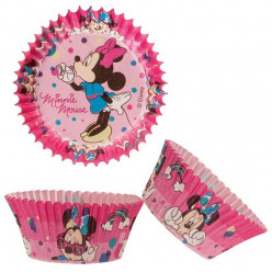 50 Formas Papel Cupcake Minnie