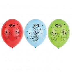 6 Balões Coelhinho Bing