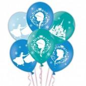6 Balões Frozen Premium