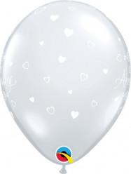 6 Balões Happy Birthday Transparentes