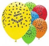 6 Balões Latex blocos Lego