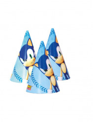 6 Chapéus Festa Sonic