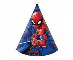6 Chapéus Festa Spiderman Team Up