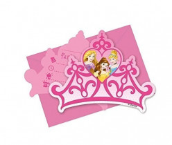 6 Convites Princesas Disney Dreaming