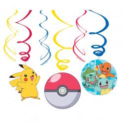 6 Espirais Decorativas Pokémon
