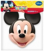 6 Máscaras festa Disney Mickey