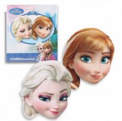 6 Máscaras Frozen Disney