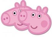 6 Máscaras Porquinha Peppa