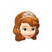 6 Máscaras Princesa Sofia