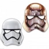6 Máscaras Star Wars Stormtrooper