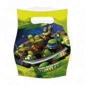 6 Sacos Tartarugas Ninja