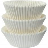 75 Forminhas Brancas Cupcake - 50mm