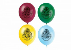 8 Balões Latex Festa Harry Potter
