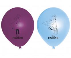 8 Balões Latex Frozen 2