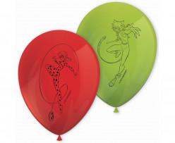8 Balões Latex Ladybug