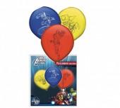 8 balões latex Marvel Avengers