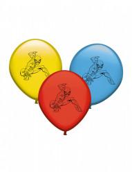 8 Balões latex Spiderman