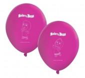 8 Balões Masha e o Urso