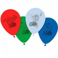 8 Balões Mighty Avengers