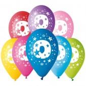 8 Balões Premium Látex Nº 0 - 30cm
