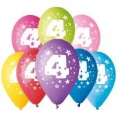 8 Balões Premium Látex Nº 4 - 30cm
