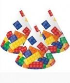 8 Chapéus Lego Party