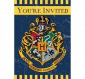 8 Convites de Festa Harry Potter