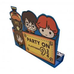 8 Convites Festa Harry Potter