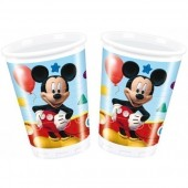 8 Copos Mickey Mouse