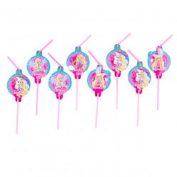 8 Palhinhas Barbie
