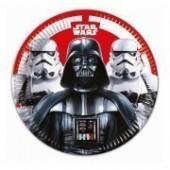 8 Pratos 23 cm Star Wars Final Battle