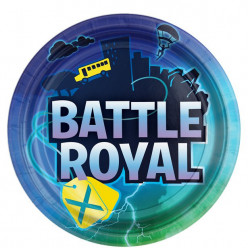 8 Pratos Battle Royal 23cm