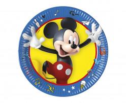 8 Pratos Mickey Pals at Play 20cm