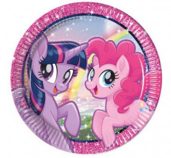 8 Pratos My Little Pony Friends 23cm
