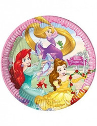 8 Pratos Princesas Disney Dreaming 23cm