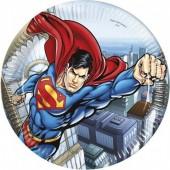 8 Pratos Super Homem / Superman