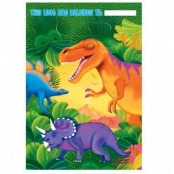 8 Sacos Brinde Dinossauros Pré Histórico