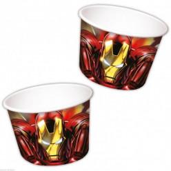 8 Taças sobremesa Mighty Avengers