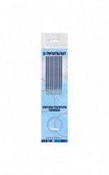 8 Velas Azul Sparklers Foguete
