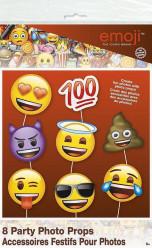 Adereços Fotos Festas Emoji 8und