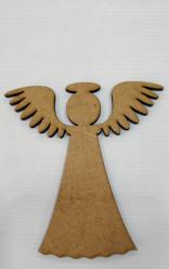 Anjo recordação MDF figura 4