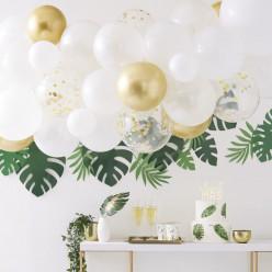 Arco com 55 Balões Dourado 4m