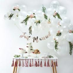 Arco com 70 Balões Brancos 4m