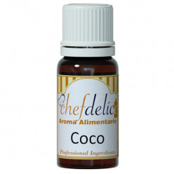 Aroma de Coco Chefdelice 10ml