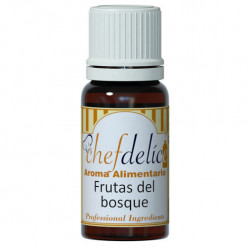 Aroma de Frutos do Bosque Chefdelice 10ml