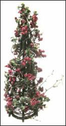 Árvore com azevinho Natal