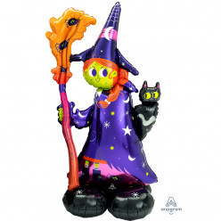 Balão AirLoonz Scary Witch 139cm