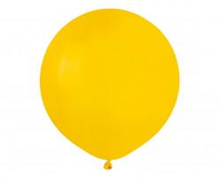 """Balão Amarelo 19"""" (48cm)"""